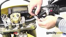ram mount motorcycle reservoir u bolt mount installed