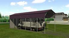 Shelter Metal by 12x41 Metal Rv Shelter