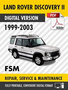 free auto repair manuals 1999 land rover discovery windshield wipe control 1999 2003 land rover discovery ii factory service manual s manuals