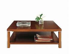 coffee table with shelf and stainless steel details