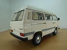 volkswagen transporter t3 cing car westfalia beige 1 18