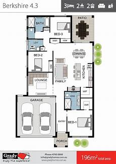 house plans townsville berkshire 4 large 4 bedroom house floor plan