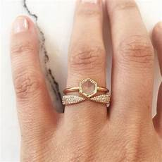 15 unique fitted engagement ring and wedding band combos that just belong together brit co
