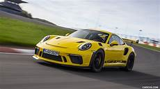 2019 porsche 911 gt3 rs color racing yellow front