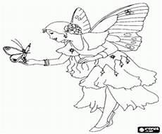 Ausmalbilder Schmetterling Fee Ausmalbilder Feen Malvorlagen 2