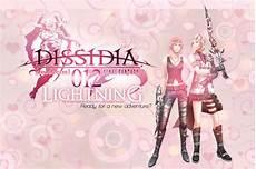 dissidia 012 lightning by omniamohamedart