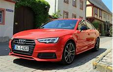 first 2018 audi s4 driving