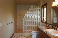 dusche gemauert bilder seattle glass block glass block shower kits install in 4