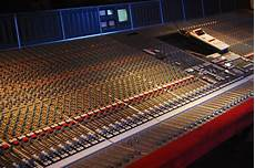 mixer console mixing console
