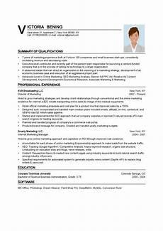 resume template word fotolip
