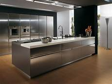 Metal Kitchen Furniture 4 Great Materials For Your Kitchen Cabinets Kaodim