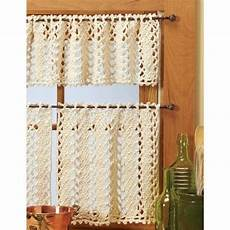Yarn Vienna Lace Valance Curtains Crochet Yarn