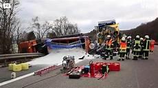 T 246 Dlicher Lkw Unfall Auf Der A3