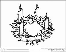 advent wreath coloring pages coloring home