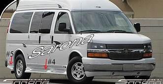 Custom Chevy Van Body Kit 2003  2018 $119000 Part