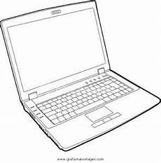 Bilder Zum Ausmalen Am Computer Laptop 2 Gratis Malvorlage In Computer Diverse