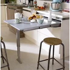 table rétractable cuisine table r 233 tractable aluminium delinia 95 x 75 cm 300 leroy