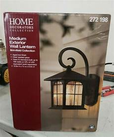 home decorators collection brimfield 1 light aged iron outdoor wall lantern for sale online ebay