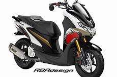 Modifikasi Yamaha Freego by Ganti Kepala Tilan Yamaha Freego Malah Jadi Mirip Nmax
