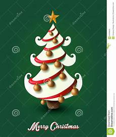 merry christmas elements decoration tree eps10 file stock vector illustration of postcard