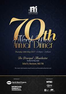 west 70th annual branch dinner