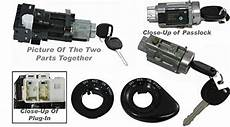 security system 1998 pontiac grand am spare parts catalogs apdty 035812 035813 ignition lock cylinder starter switch housing combo kit includes 2 new