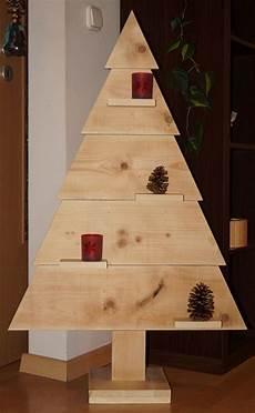 Weihnachtsbaum Modern Holz - weihnachtsbaum aus holz 113 cm ohne deko weihnachten