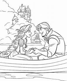 Ausmalbilder Rapunzel Malvorlagen Word Princess Rapunzel Dating With Flynn Rider Coloring Pages
