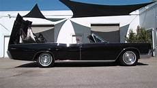 1967 Lincoln Continental Convertible Top Operation