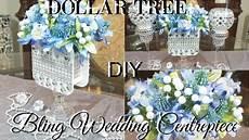 diy dollar tree wedding or bridal shower bling centerpiece