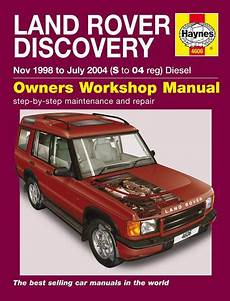 old car owners manuals 2006 land rover discovery lane departure warning 1998 2004 land rover discovery diesel haynes repair manual