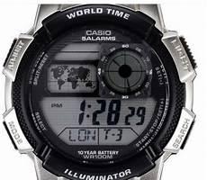 harga jam tangan casio illuminator asli ae 1000 wd 1 avdf silver pusat daftar harga