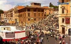web roma live steps piazza di spagna