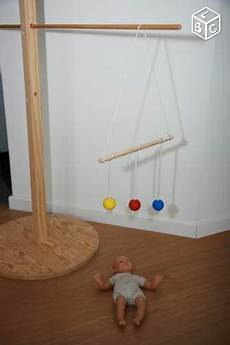 fabriquer support mobile bébé location porte mobile montessori en bois pr b 233 b 233