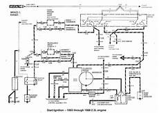 94 ford ranger ignition wiring diagram 1996 ford ranger 23 engine diagram