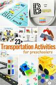 Preschool Transportation Theme Printables  Sorting Land