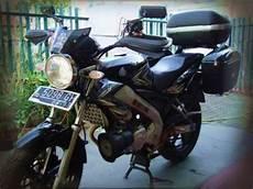 Vixion Modifikasi Touring by 100 Gambar Motor Modifikasi Vixion Touring Terlengkap