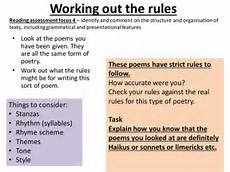 introduction to poetry form poems haiku limerick