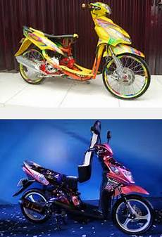 Modifikasi Motor Nex by Gambar Foto Modifikasi Motor Suzuki Nex Ceper Velg Bintang