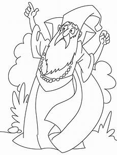 angry wizard coloring pages free angry