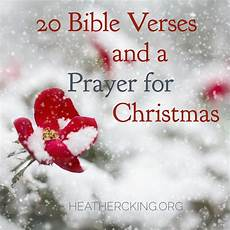 christmas bible verses and a prayer c king room to breathe
