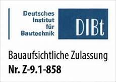 bauaufsichtliche zulassung gfm system
