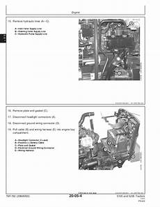 Deere 5205 Tractor Service Repair Manual