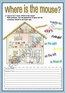 places in the house worksheets 15999 house and prepositions of place esl worksheet by butterfly pt