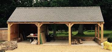 3 Bay Oak Framed Car Port  Tradoak Case Study