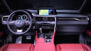 2019 Lexus Rx 450h F Sport Interior 4  2020