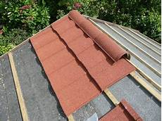 repairing a shed roof roofing felt or shingles shedblog