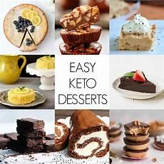 keto desserts quick and easy keto dessert recipes