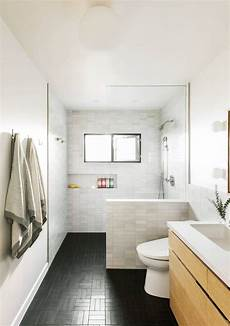 white bathroom floor tile ideas bathroom of the week in la a softer take on black and white remodelista