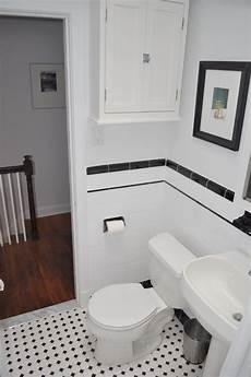 Black And White Subway Tile Bathroom Ideas by Pin By Punziano On Granna S House In 2019